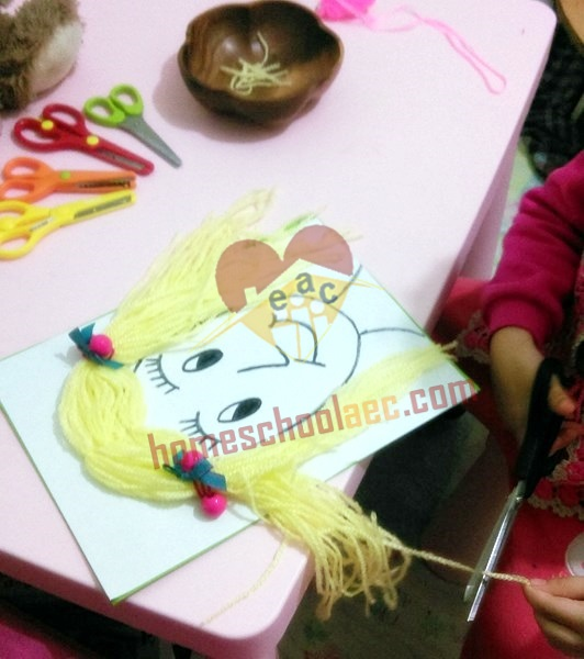 Haircut Craft For Toddlers Homeschool