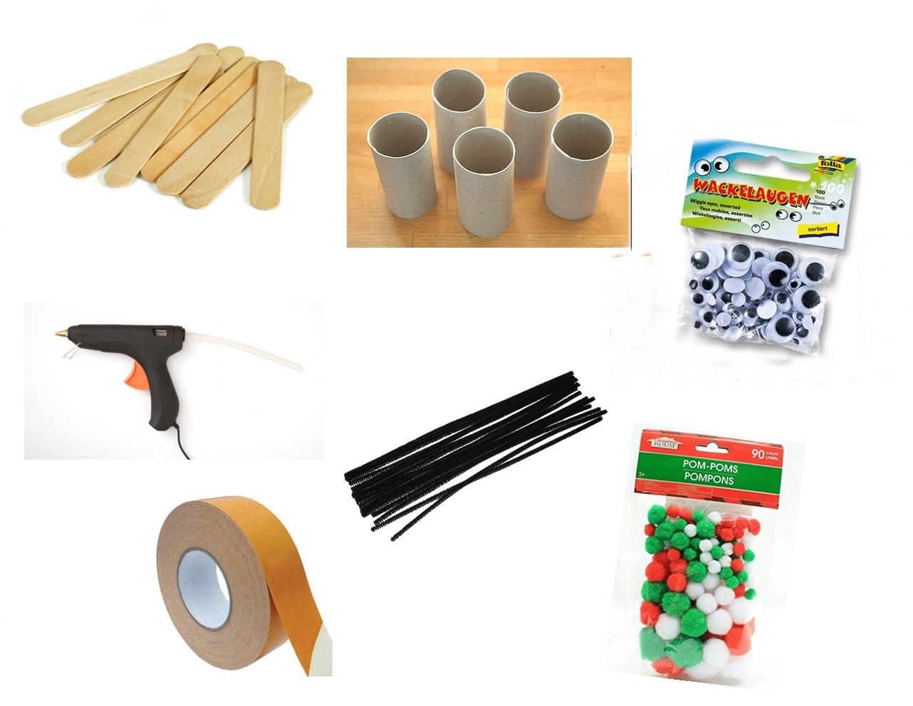 butterfly craft materials
