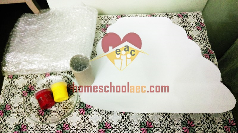 bee painting activity