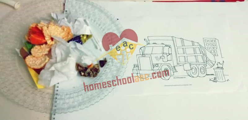 Garbage truck activities for kids