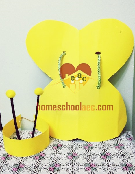 bee hat craft