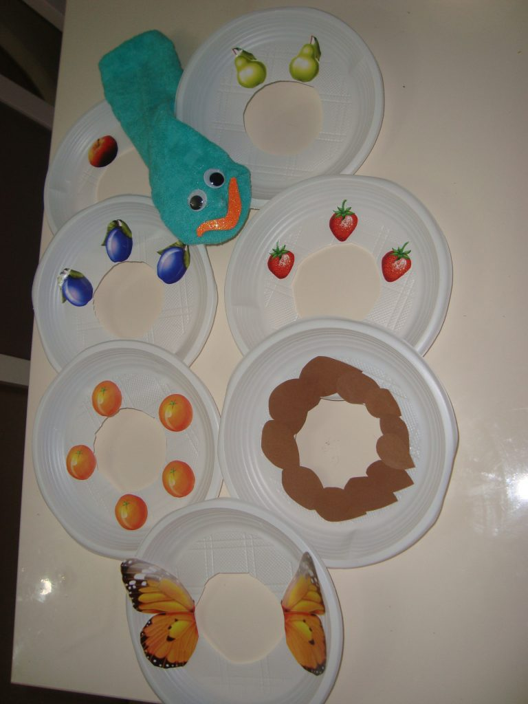 paper plate feeding activity