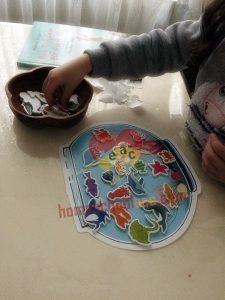 toddlers fish tank activity