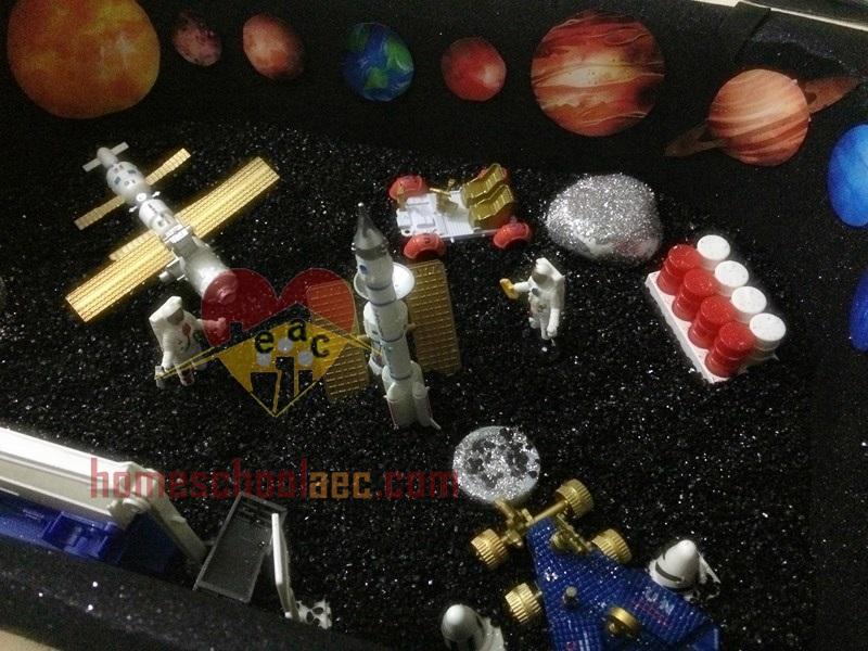 space sensory table