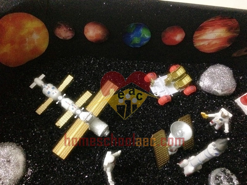 solar system sensory table