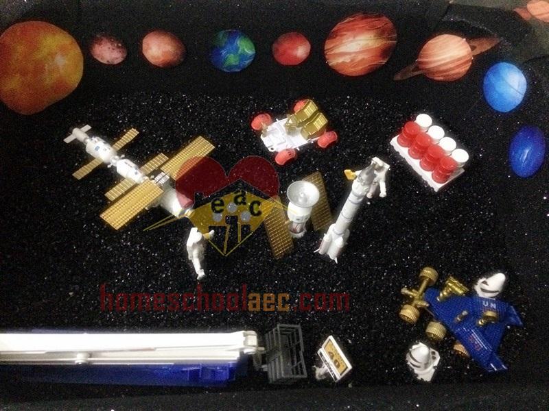 solar system sensory play