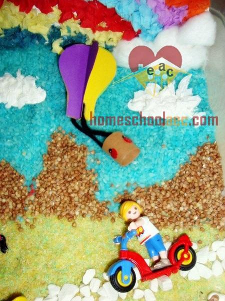 baby hot air balloon