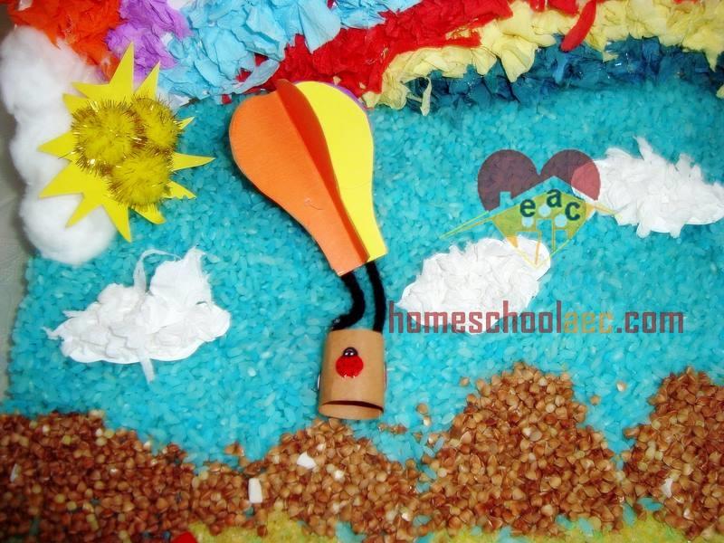 hot air balloon for kids