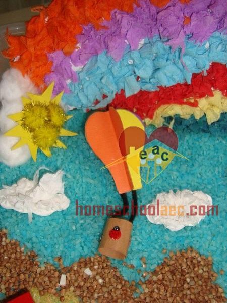 hot air balloon activity