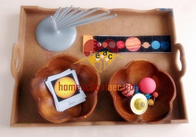 solar system for kindergarten