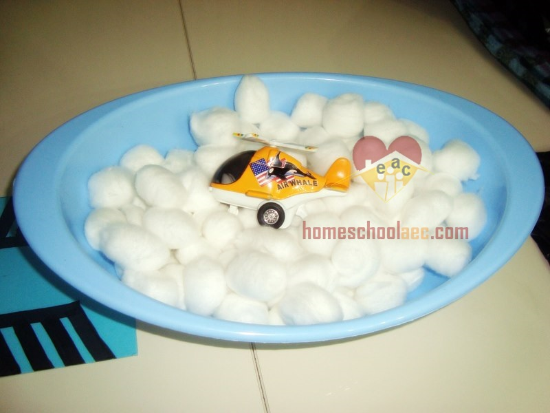 helicopter sensory box