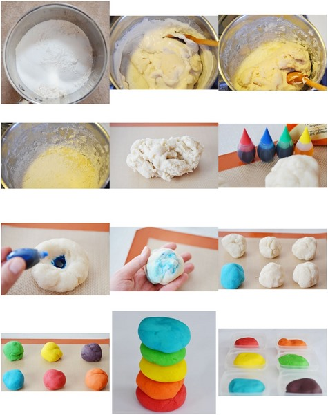 homemade playdough for toddlers