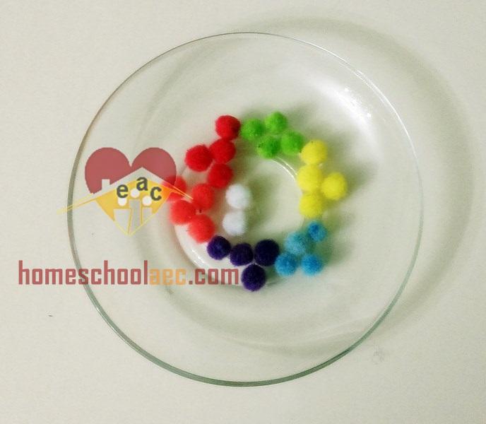 diy hot air balloon colour matching