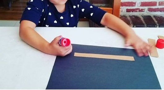 apple crafts for preschool