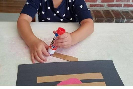 apple craft idea