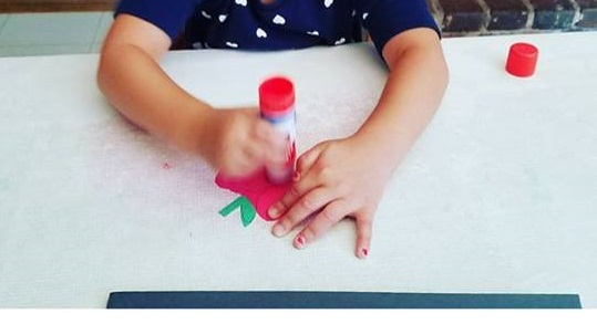 toddlers apple craft