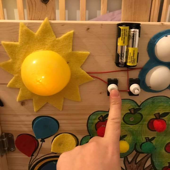toddler activity board