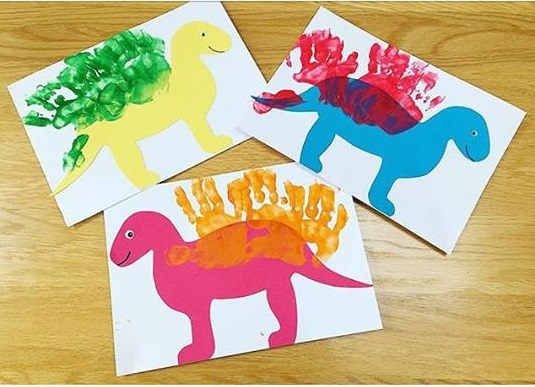 handprint cards for kids