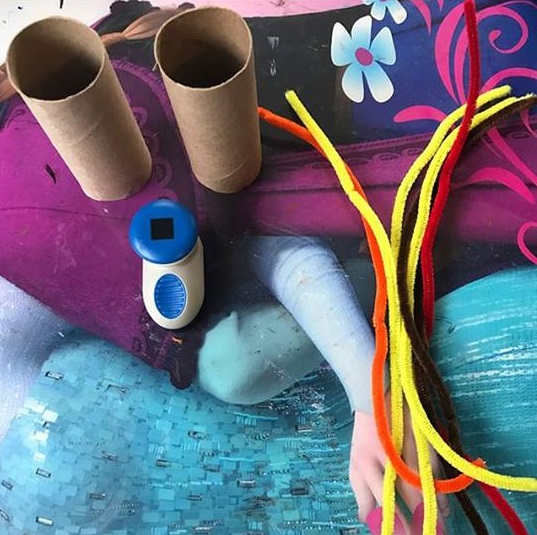 paper roll tree craft