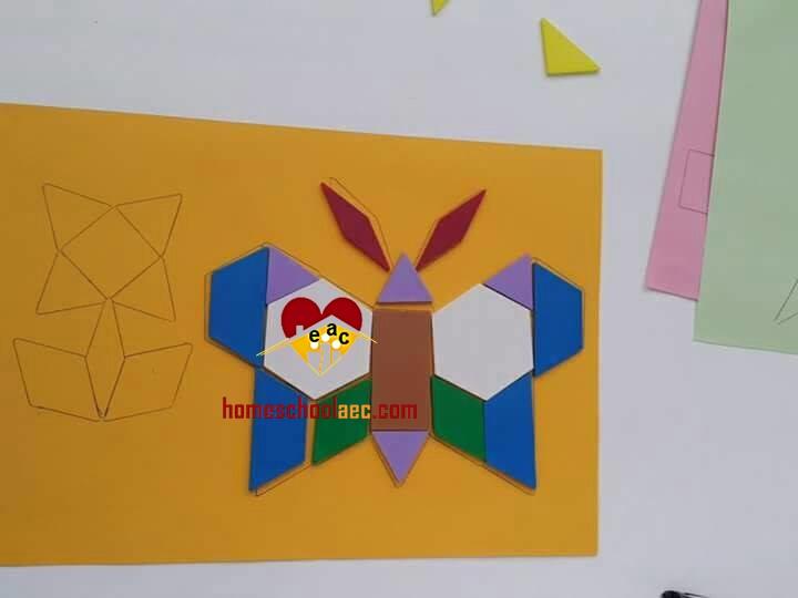 pattern block animals