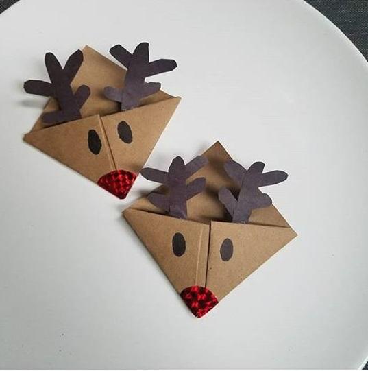 christmas bookmark craft