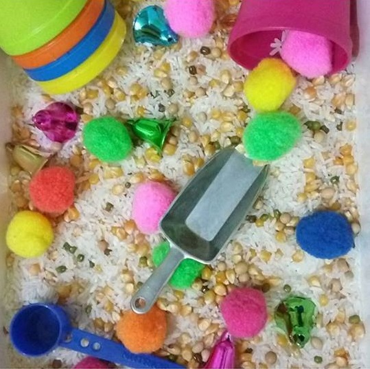 rice sensory activities