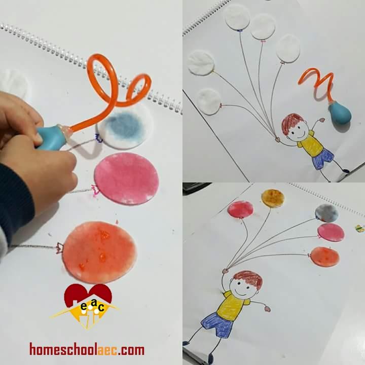 cotton pad art ideas