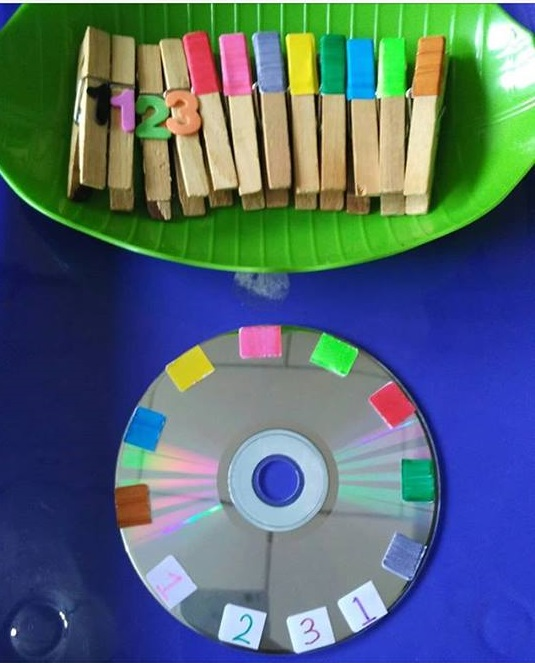 clothespin color activity