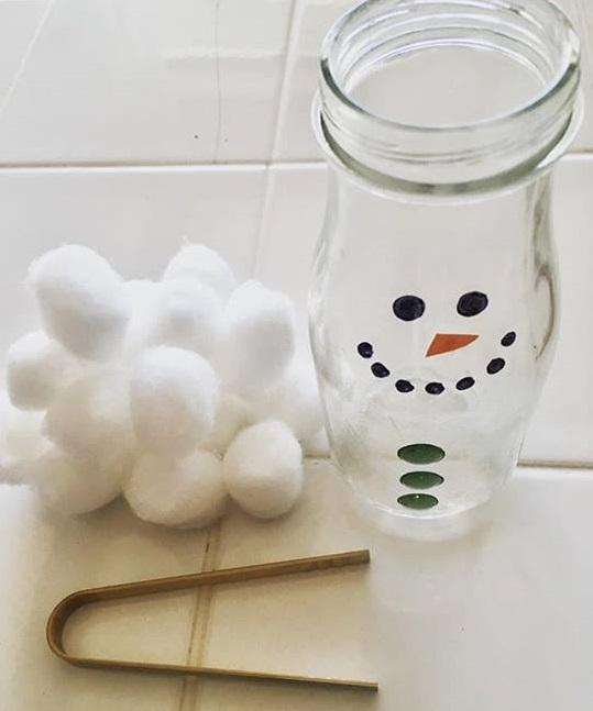 snowman transfer activity