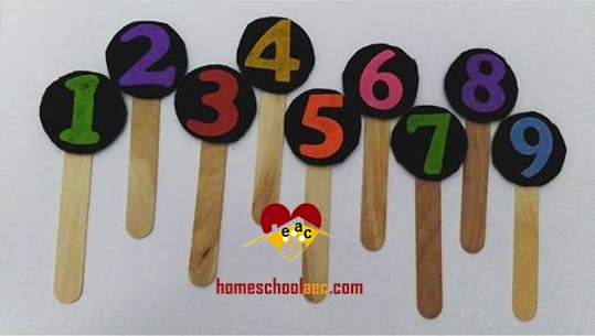 number activities for toddlers