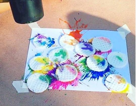 Splatter Paint Art