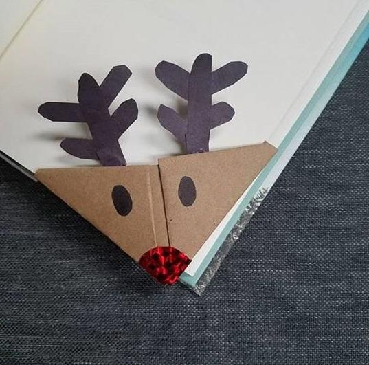 christmas bookmark craft idea