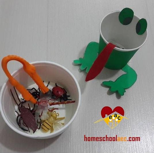 kindergaren frog craft