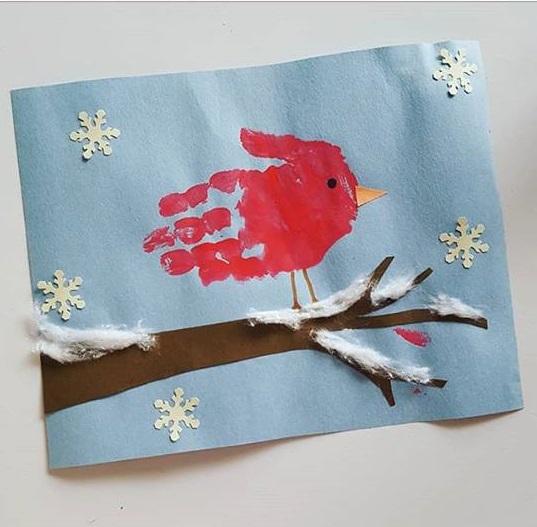 handprint cards