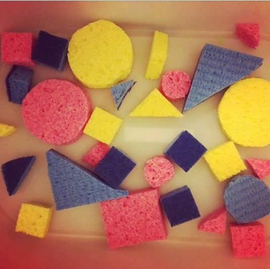 shapes theme sponge activity