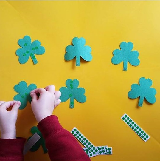 shamrock counting activity