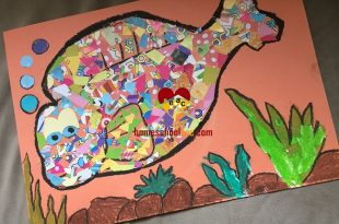 Fish Collage Craft For Kids Archives Homeschool Craft And Art
