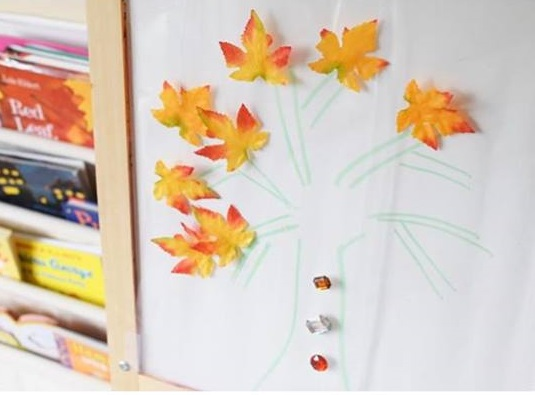 easy collage tree for kids