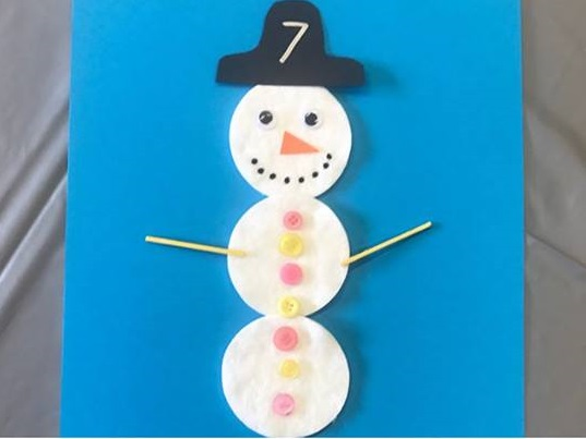 snowman counting activities