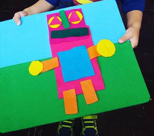 shapes robot craft