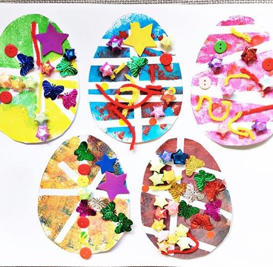 easter tinkering craft