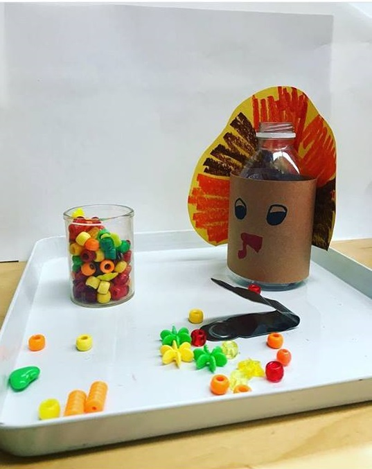 turkey fine motor games