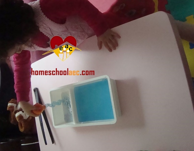snowflake transfer fine motor activity