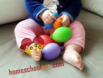 montessori sensory balloons for toddlers
