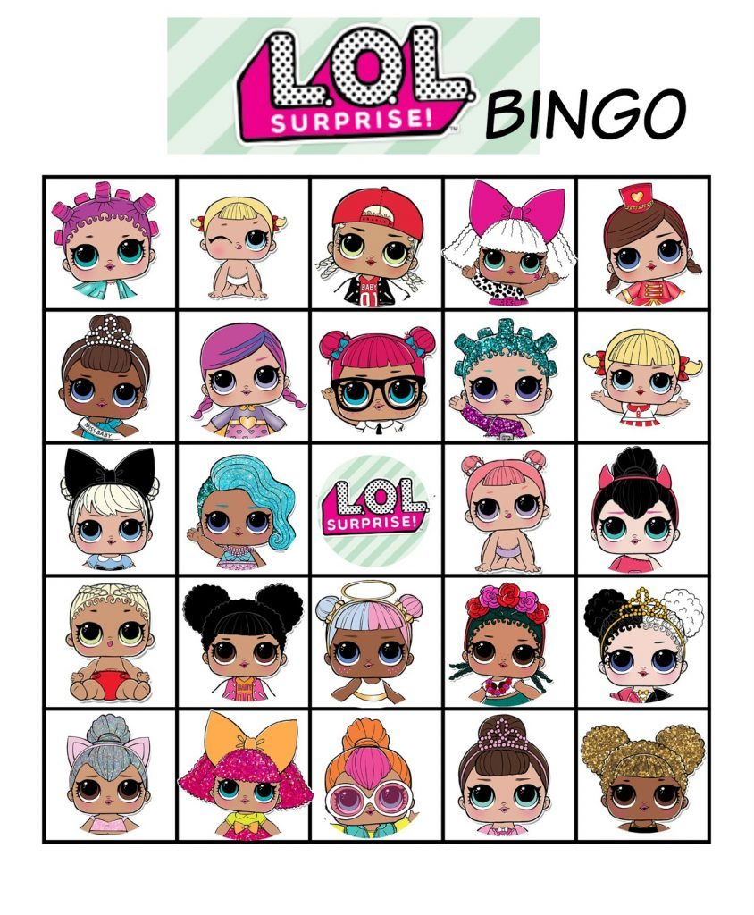 LOL bingo game