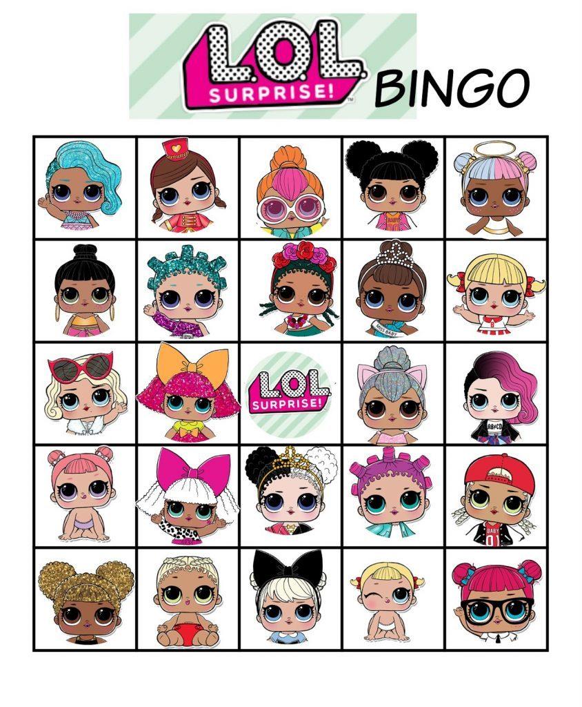 bingo game LOL dolls