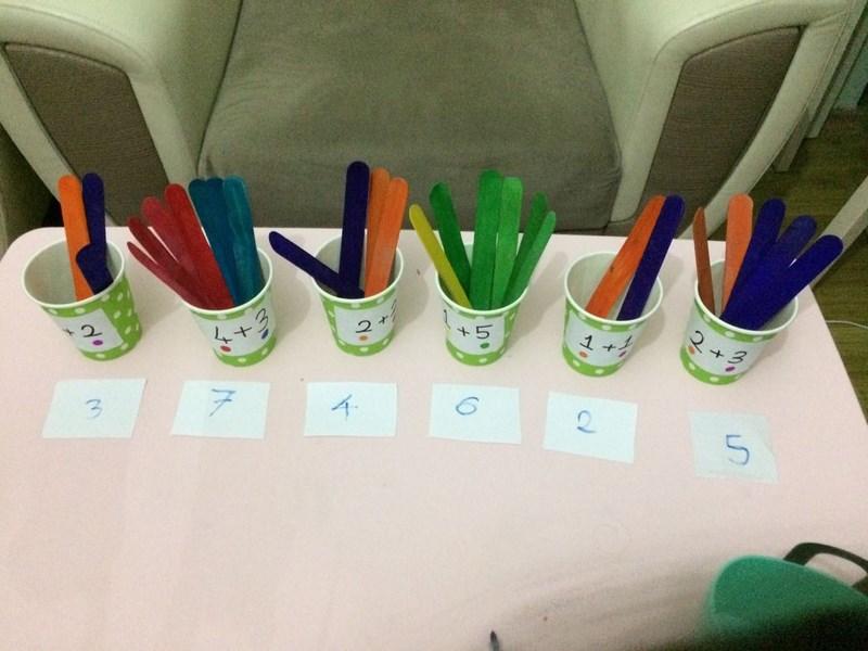 addition activity for preschool