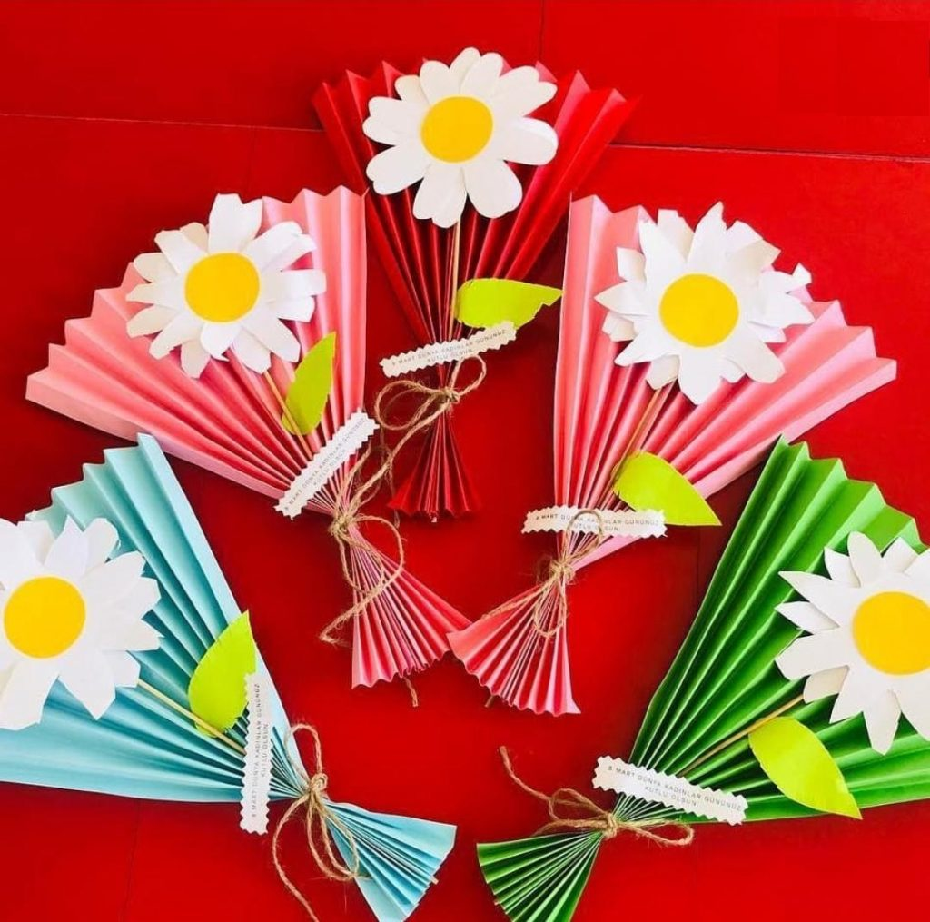 mothers day flowers craft