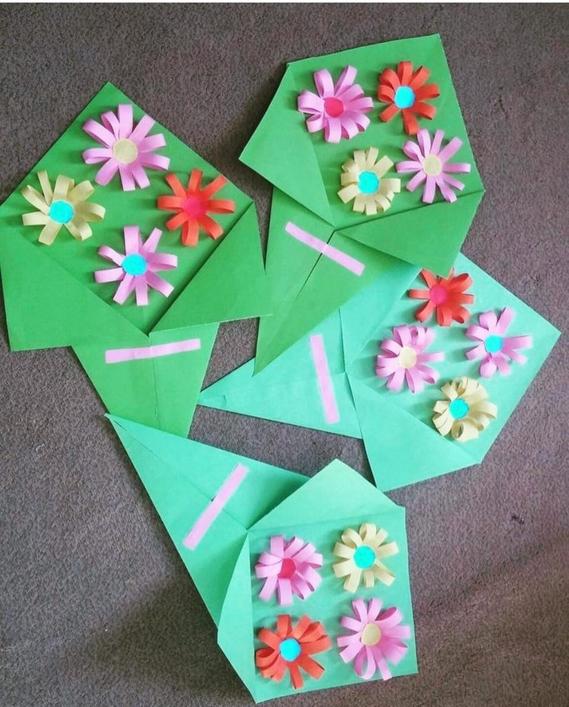 mothers day flower craft for preschool