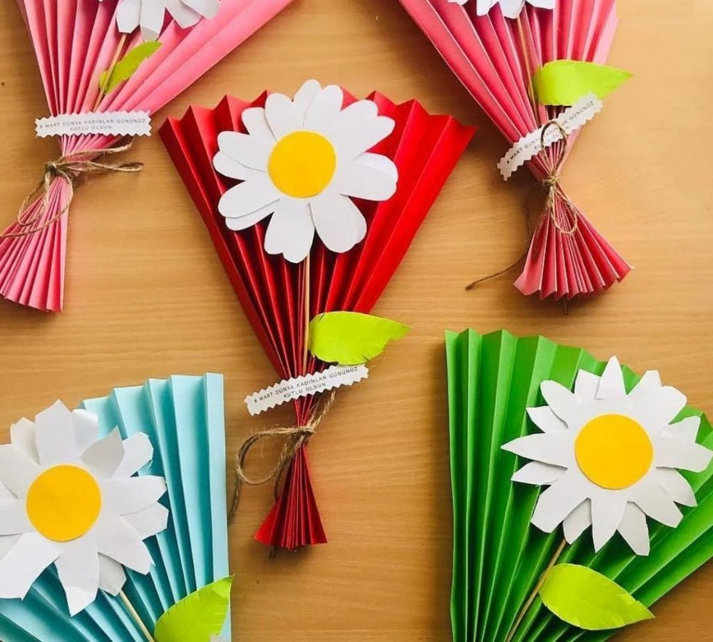 mothers day flower craft idea